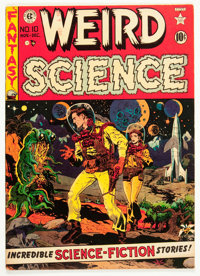 Weird Science #10 (EC, 1951) Condition: FN+