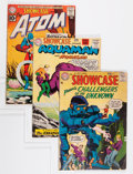 Silver Age (1956-1969):Miscellaneous, Showcase #7, 32, and 34 Group (DC, 1957-61).... (Total: 3 Comic Books)