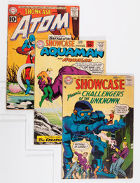 Showcase #7, 32, and 34 Group (DC, 1957-61).... (Total: 3 Comic Books)