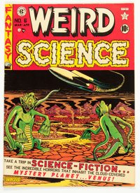 Weird Science #6 (EC, 1951) Condition: FN+