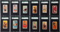 "Boxing Cards:General, 1909-11 E75 Through E79 ""E"" Caramel Boxing Collection (66) WithThree Near Sets. ..."