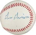 Autographs:Baseballs, Mid-1960's Early Apollo Astronauts Signed Baseball with Grissom....
