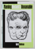 Books:Reference & Bibliography, [Samuel Beckett]. Group of Five Books Relating to Beckett,including. Melvin J. Friedman [editor]. Samuel Beckett No...(Total: 5 Items)