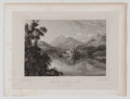 Antiques:Posters & Prints, Lot of 4 Antique Plates of Scottish Lochs. From The Lakes ofScotland by John Fleming, Glasgow: Joseph Swan, Engraver, 1...