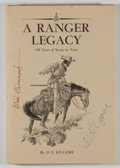 Books:Americana & American History, D. E. Kilgore. SIGNED BY KILGORE AND JOSE CISNEROS, ILLUSTRATOR.A Ranger Legacy: 150 Years of Service to Texas. ...