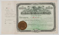 Antiques:Posters & Prints, Lot of Three Late 19th Century Stock Certificates from The OrphanBell Mining and Milling Company. Each measures app...