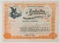 Antiques:Posters & Prints, Lot of Four Late 19th / Early 20th Century Gold Mining CompanyStock Certificates from The Isabella Gold Mining Compan...