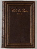 Books:Literature Pre-1900, F. W. Farrar [editor]. With the Poets: A Selection of EnglishPoetry. London: Suttaby, 1883. Octavo. 412 pages. Cont...