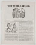 Miscellaneous:Newspaper, The Whig-Dresser Periodical....