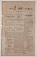 Miscellaneous:Newspaper, The Tickler Periodical....