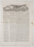 Miscellaneous:Newspaper, [Civil War] Banner of Liberty Periodical....