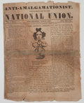 Miscellaneous:Newspaper, [Civil War] Anti-Amalgamationist, Supplementary to the NationalUnion Periodical. ...