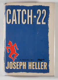 Joseph Heller. Catch-22. New York: Simon and Schuster, 1961. First edition, first printing. Oct