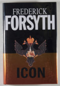 Books:Mystery & Detective Fiction, Frederick Forsyth. SIGNED. Icon. London: Bantam Press, [1996]. First edition, first printing. Signed by Forsyth ...