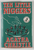 Books:Mystery & Detective Fiction, Agatha Christie. Ten Little Niggers. London: Crime Club,[1939]. First edition. Octavo. 252 pages. Publisher's bindi...