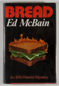Books:Mystery & Detective Fiction, Ed McBain. SIGNED. Bread. New York: Random House, [1974].First edition, first printing. Signed by McBain on hal...