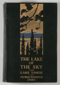 Books:Americana & American History, George Wharton James. SIGNED. The Lake of the Sky. Pasadena:James, 1915. First edition. Signed by James. Octavo...