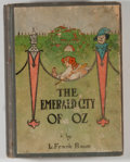 Books:Children's Books, Frank L. Baum. The Emerald City of Oz. Chicago: Reilly &Lee, [1910]. Later impression. Octavo. 295 pages. Publi...