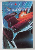 Books:Science Fiction & Fantasy, [JERRY WEIST COLLECTION]. Joe Haldeman. SIGNED. The Forever War. London: Gollancz, [2001]. Later edition. Sign...