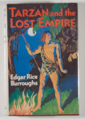 Books:Science Fiction & Fantasy, [JERRY WEIST COLLECTION]. Edgar Rice Burroughs. INSCRIBED BY DANTONBURROUGHS. Tarzan and the Lost Empire. London: C...