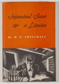Books:Horror & Supernatural, [JERRY WEIST COLLECTION]. Howard Phillips Lovecraft.Supernatural Horror in Literature. New York: Abramson, 1945.Fi...