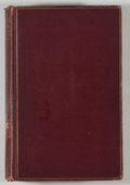 Books:Biography & Memoir, John White Chadwick. Theodore Parker: Preacher and Reformer. Boston: Houghton, Mifflin, 1900. First edition, first p...