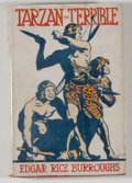 Books:Science Fiction & Fantasy, [JERRY WEIST COLLECTION]. Edgar Rice Burroughs. Tarzan the Terrible. London: Methuen, [1921. First British edition. ...