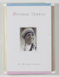 Books:Religion & Theology, Mother Teresa. SIGNED. In My Own Words. Liguori: Liguori,[1996]. First edition, second printing. Signed by Mother...