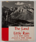 Books:Americana & American History, Ansel Adams [photographer]. Mary Austin. SIGNED BY ADAMS. TheLand of Little Rain. Boston: Houghton Mifflin, 1950. F...