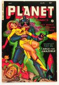 Planet Comics #70 (Fiction House, 1953) Condition: VF-