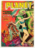 Golden Age (1938-1955):Science Fiction, Planet Comics #67 (Fiction House, 1952) Condition: FN....