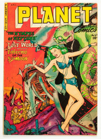 Planet Comics #67 (Fiction House, 1952) Condition: FN