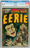 "Eerie #12 Davis Crippen (""D"" Copy) pedigree (Avon, 1953) CGC VF 8.0 Off-white pages"