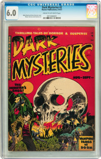 Dark Mysteries #2 (Master Publications, 1951) CGC FN 6.0 Cream to off-white pages