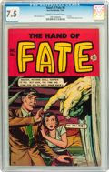 Golden Age (1938-1955):Horror, The Hand of Fate #8 (Ace, 1951) CGC VF- 7.5 Cream to off-whitepages....