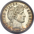 Barber Dimes, 1893-S 10C MS66 PCGS. CAC....