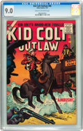 Silver Age (1956-1969):Western, Kid Colt Outlaw #68 (Marvel, 1957) CGC VF/NM 9.0 Cream to off-white pages....