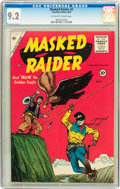 Golden Age (1938-1955):Western, Masked Raider #2 (Charlton, 1955) CGC NM- 9.2 Off-white to white pages....