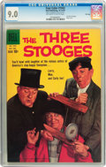 Silver Age (1956-1969):Humor, Four Color #1043 The Three Stooges - File Copy (Dell, 1959) CGC VF/NM 9.0 Off-white to white pages....