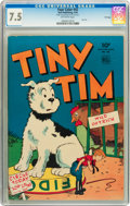 Golden Age (1938-1955):Adventure, Four Color #42 Tiny Tim - File Copy (Dell, 1944) CGC VF- 7.5 Off-white pages....