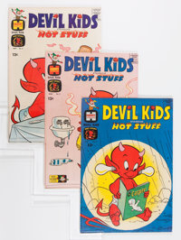 Devil Kids Starring Hot Stuff File Copy Short Box Group (Harvey, 1962-81) Condition: Average VF/NM