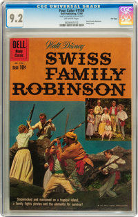 Four Color #1156 Swiss Family Robinson - File Copy (Dell, 1960) CGC NM- 9.2 Off-white pages