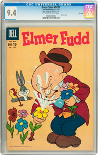 Four Color #1032 Elmer Fudd - File Copy (Dell, 1959) CGC NM 9.4 Off-white to white pages