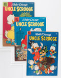 Golden Age (1938-1955):Humor, Uncle Scrooge Group (Dell, 1953-55) Condition: Average VG.... (Total: 5 Comic Books)