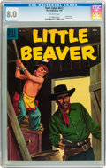 Golden Age (1938-1955):Western, Four Color #612 Little Beaver (Dell, 1955) CGC VF 8.0 Off-white pages....