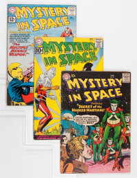 Mystery in Space Group (DC, 1957-66).... (Total: 10 Comic Books)