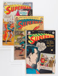 Golden Age (1938-1955):Superhero, Superman #77, 85, and 86 Group (DC, 1953-54).... (Total: 3 Comic Books)