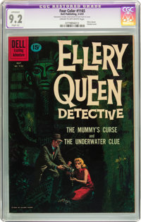 Four Color #1165 Ellery Queen (Dell, 1961) CGC Apparent NM- 9.2 Slight (A) Cream to off-white pages