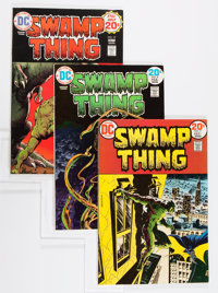 Swamp Thing Group (DC, 1973-75) Condition: Average FN.... (Total: 26 Comic Books)