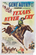 Memorabilia:Poster, Gene Autry Movie Poster Group (1939-52).... (Total: 7 Items)